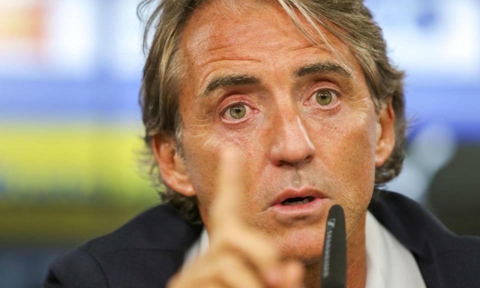 fcf8bf5953 Itália  Mancini fala do jogo ante Portugal