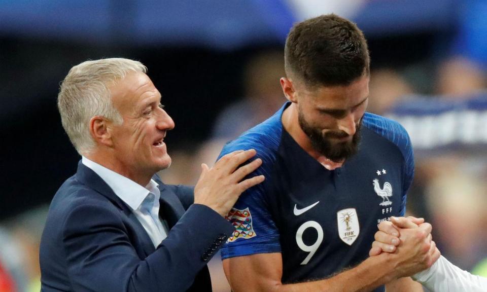 VÍDEO: Giroud dá vitória à França sobre a Holanda
