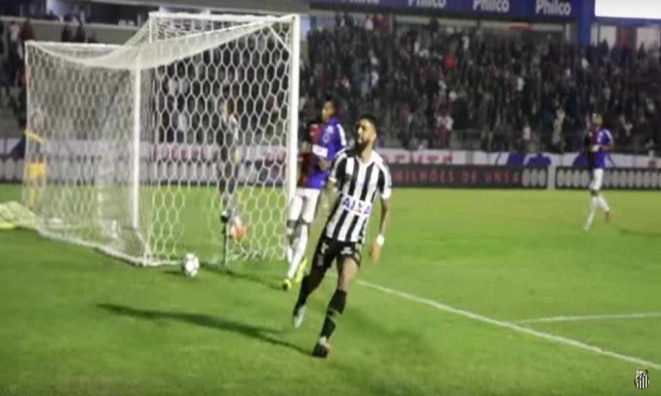 VÍDEO: bis de Gabigol na vitória do Santos