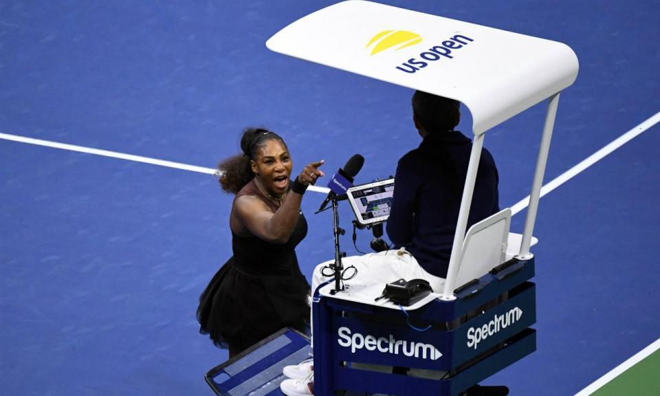 Federer diz que Serena «foi longe de mais» na final do US Open
