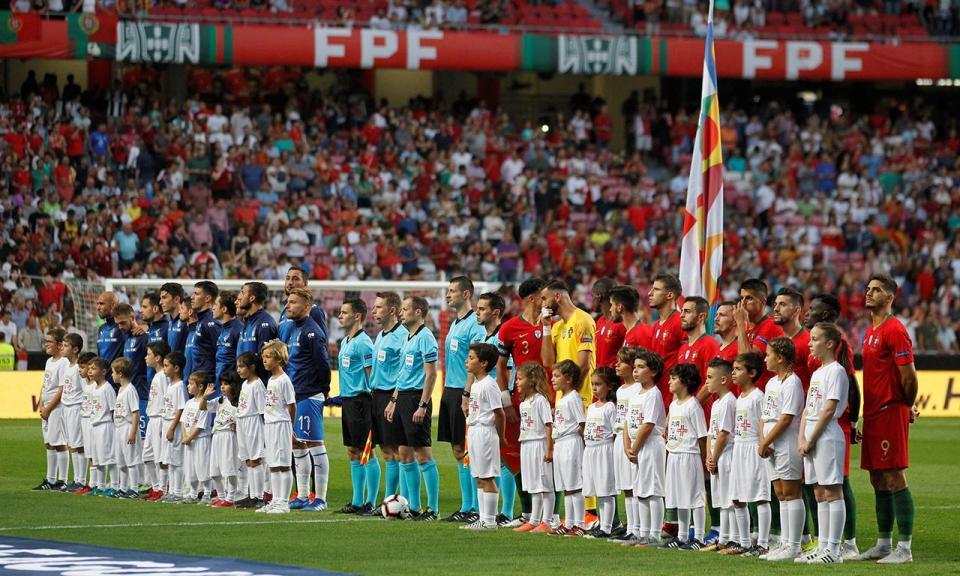 Itália com três estreantes nos convocados para Portugal