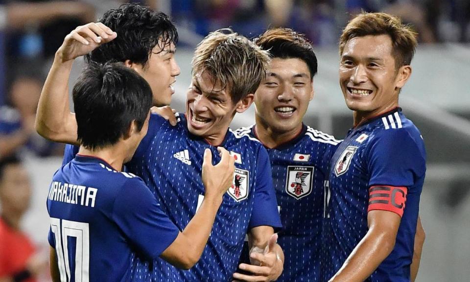 Nakajima assiste na vitória do Japão sobre a Costa Rica