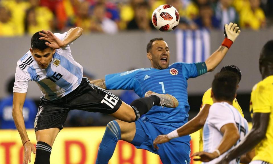 Battaglia estreia-se pela Argentina a titular no nulo com Colômbia