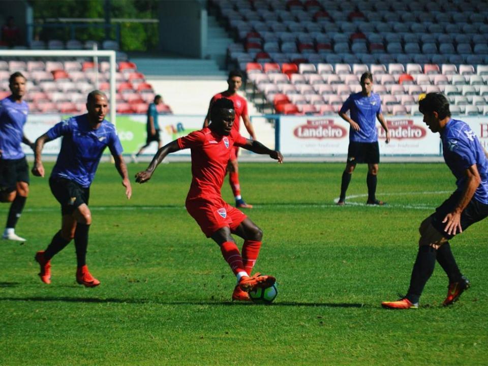 Moreirense empatou (2-2) em Barcelos com bis de Nenê