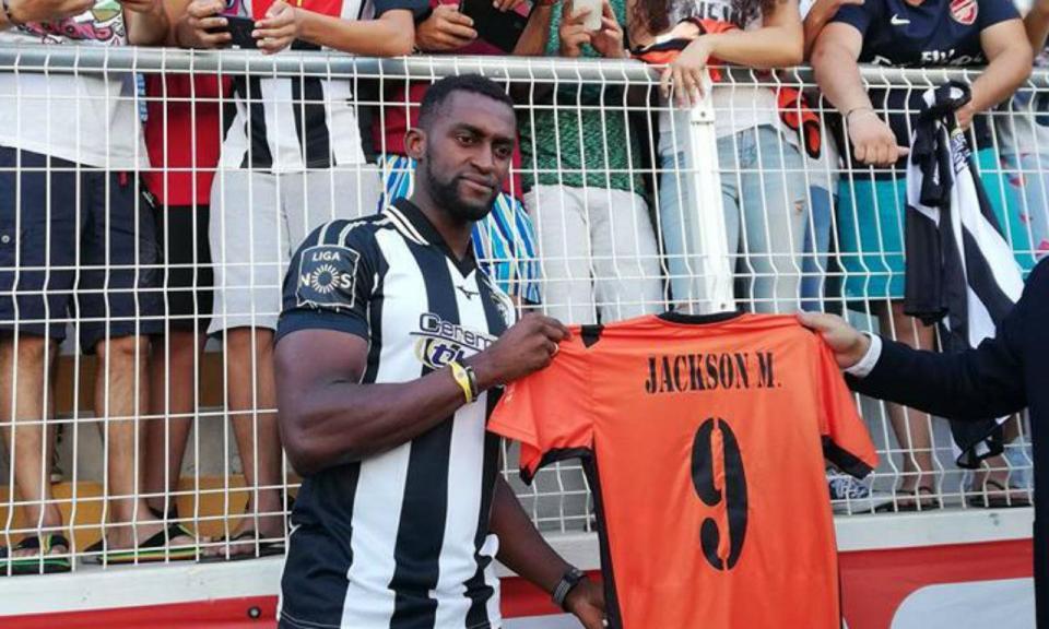 Jackson Martínez apresentado no Portimonense: «Sinto falta do jogo»