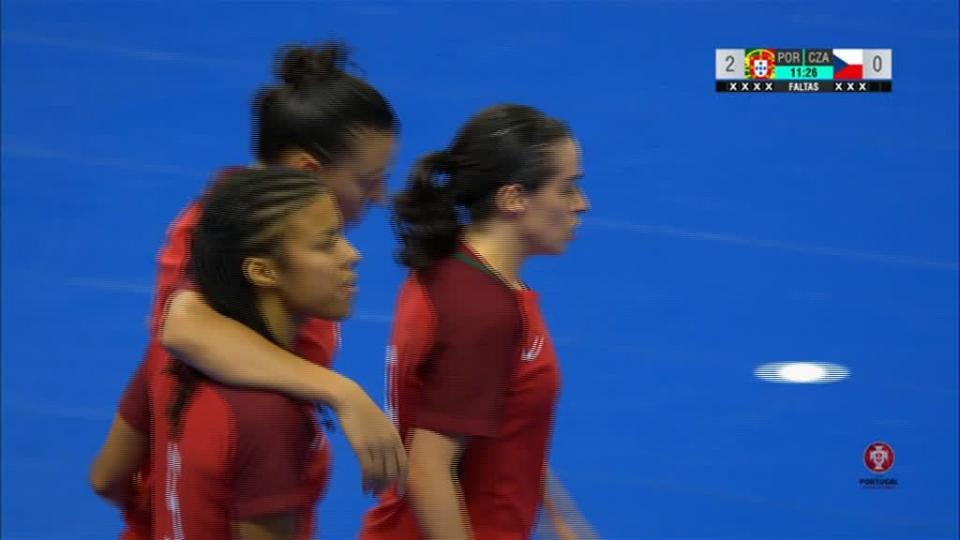 Golo de Pisko vale triunfo da seleção feminina de futsal