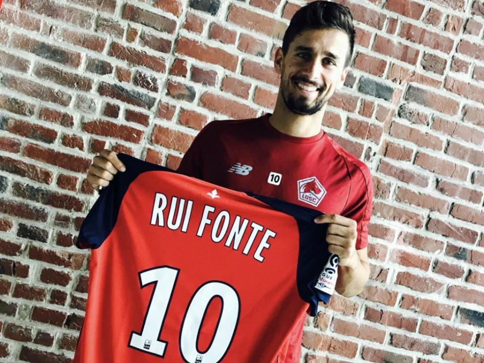 Rui Fonte: «O facto de o meu irmão jogar no Lille facilitou a decisão»