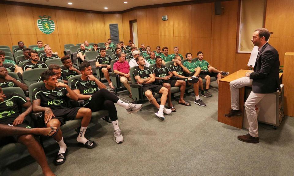 Sporting: Varandas já reuniu com o plantel