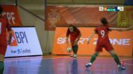 Futsal: os golos da festa de apuramento para o Europeu feminino