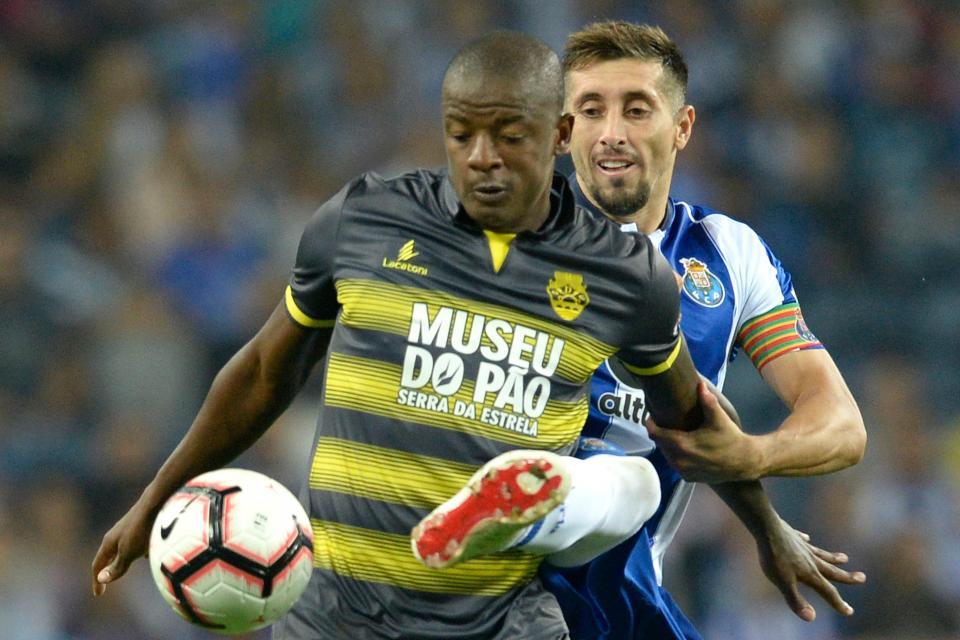 Desp. Chaves: William recuperou e é opção para o Benfica