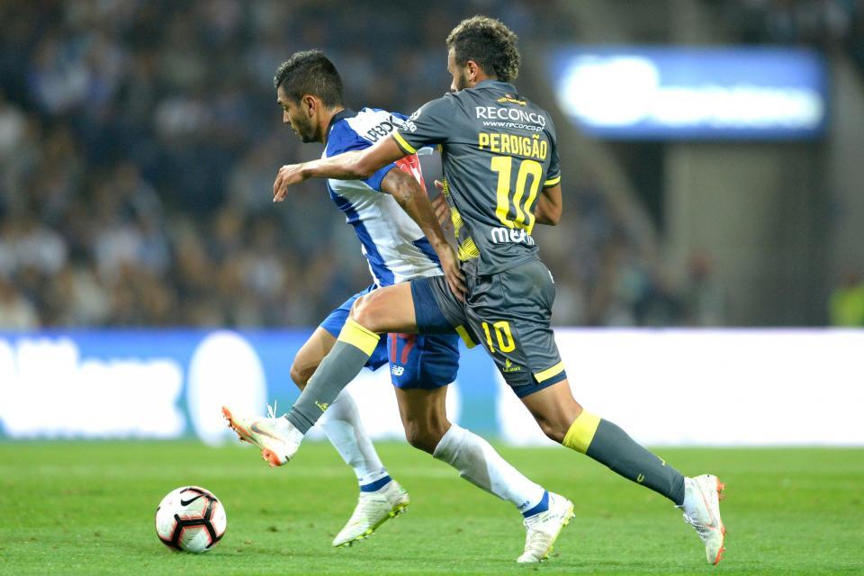 VÍDEO: veja como Hernâni abriu o marcador para o FC Porto