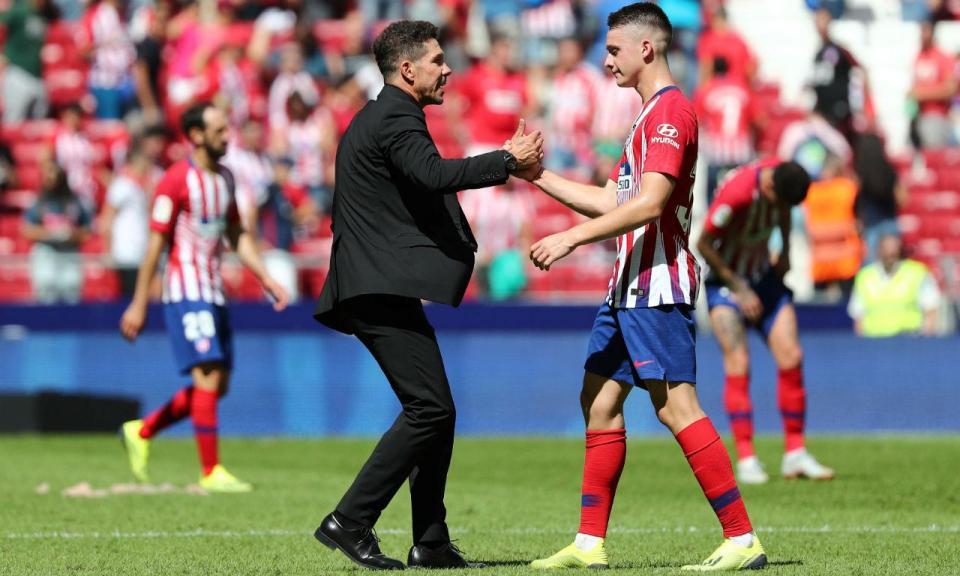 Espanha: estreante evita derrota do At. Madrid aos 90+4