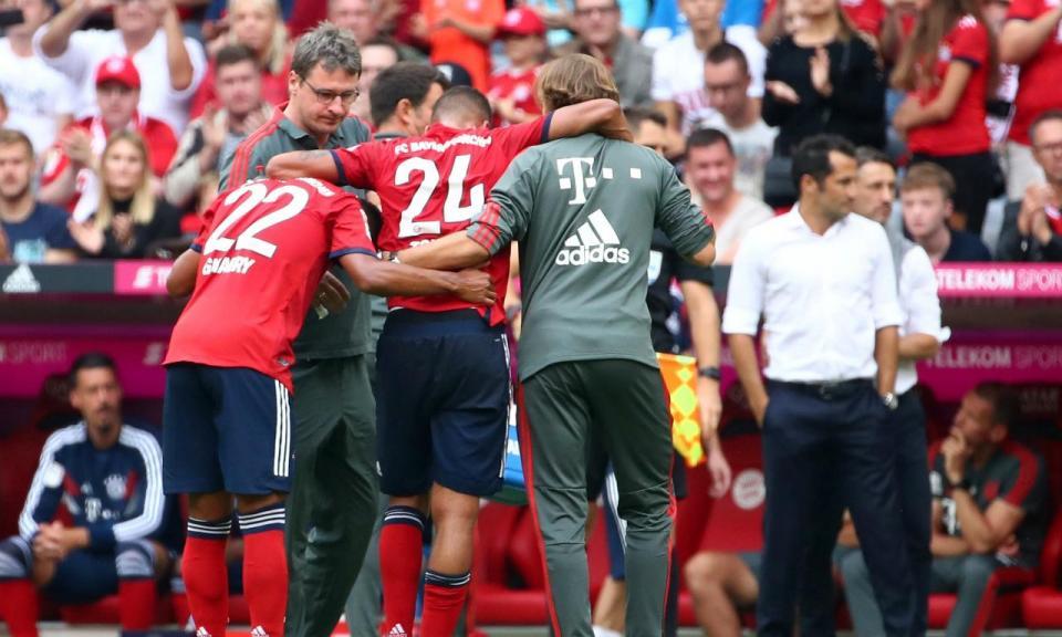 Atenção Benfica: Tolisso e Rafinha lesionam-se na vitória do Bayern