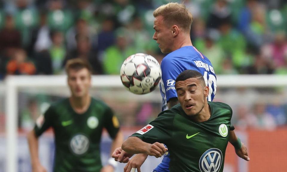 Bundesliga: jogo louco afasta Wolfsburgo e Hertha da liderança