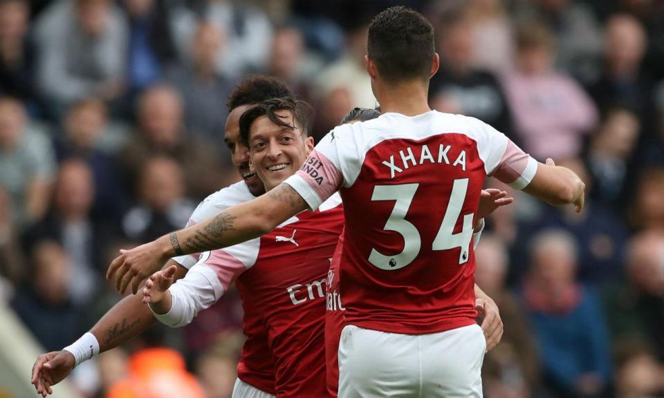 Atenção Sporting: Arsenal soma terceiro triunfo consecutivo em St. James Park