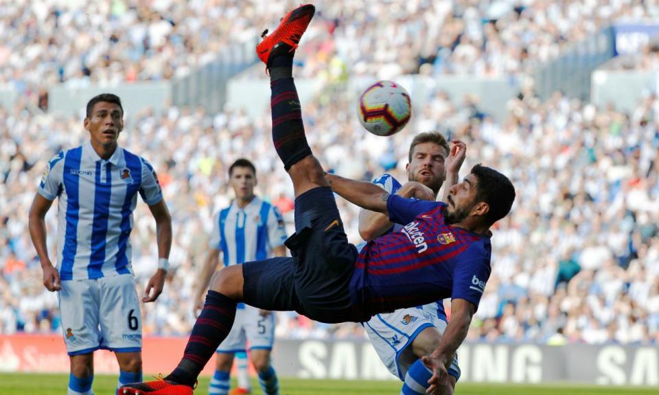 Cantos do Barcelona provocam reviravolta frente à Real Sociedad