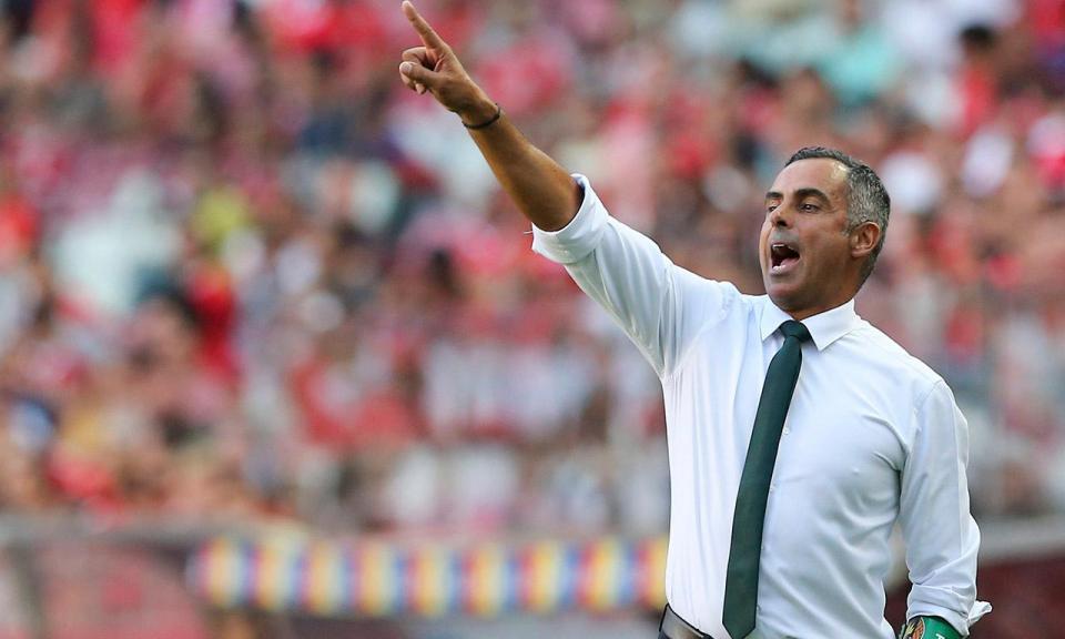 José Gomes: «Encarámos o Benfica olhos nos olhos»