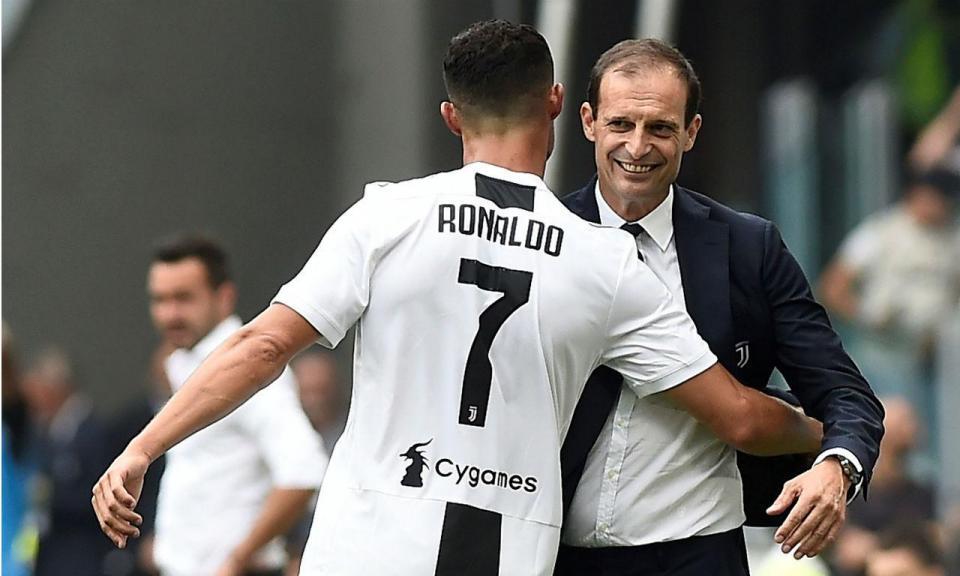 Allegri: «Ronaldo está a fazer tudo para poder jogar com o Ajax»