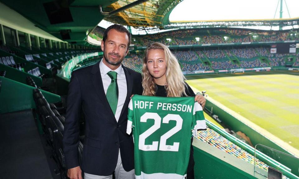 Sporting: Persson, a primeira contratação de Frederico Varandas