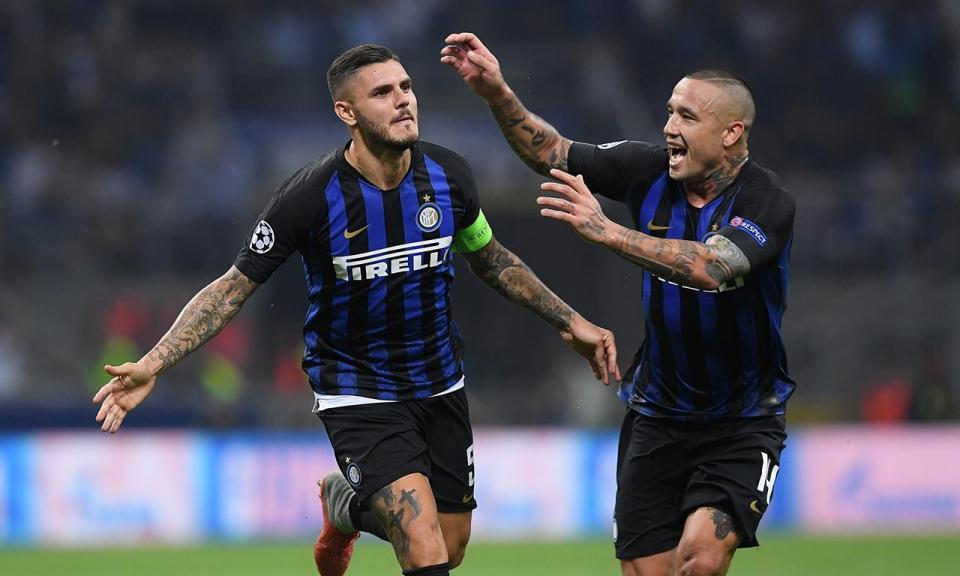 Itália: bis de Icardi mantém Inter no pódio