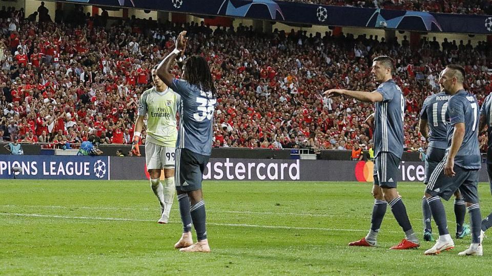 Renato Sanches eleito jogador do mês do Bayern Munique