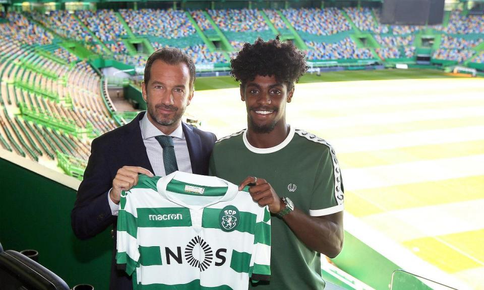 Sporting anuncia renovação com campeão europeu sub-19  fcdd1b0e7d1db