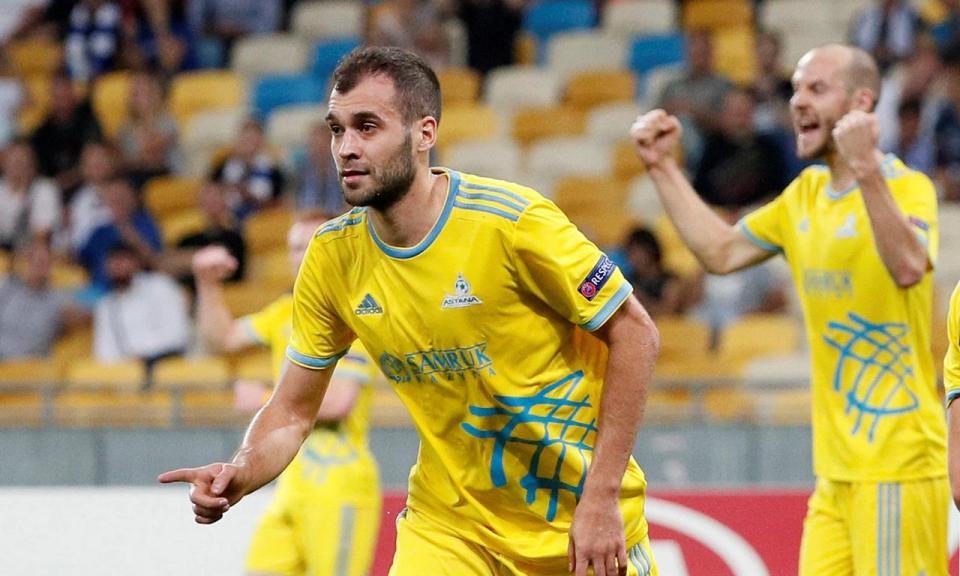 LE: Astana vence Rennes, Dínamo Kiev desperdiça vantagem de dois golos