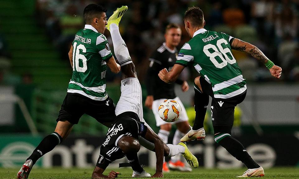 LE: Sporting-Qarabag, 2-0 (resultado final)