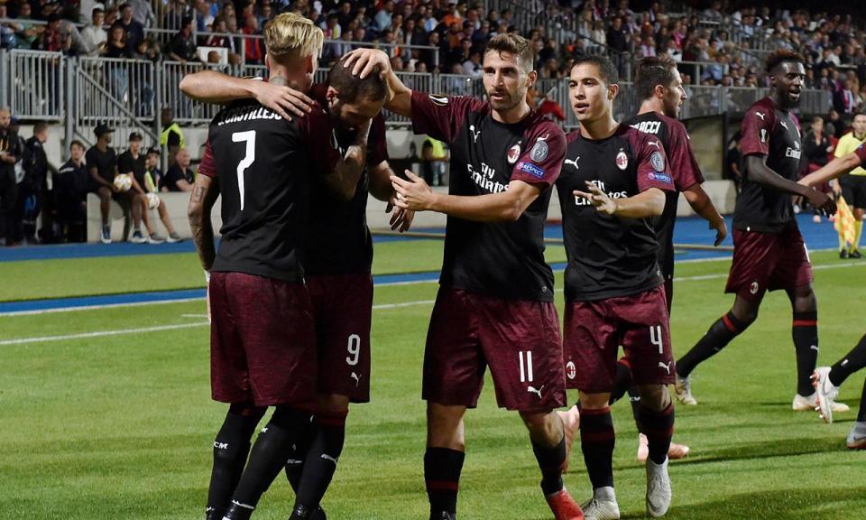 Itália: Milan vence um mês depois no campeonato com goleada