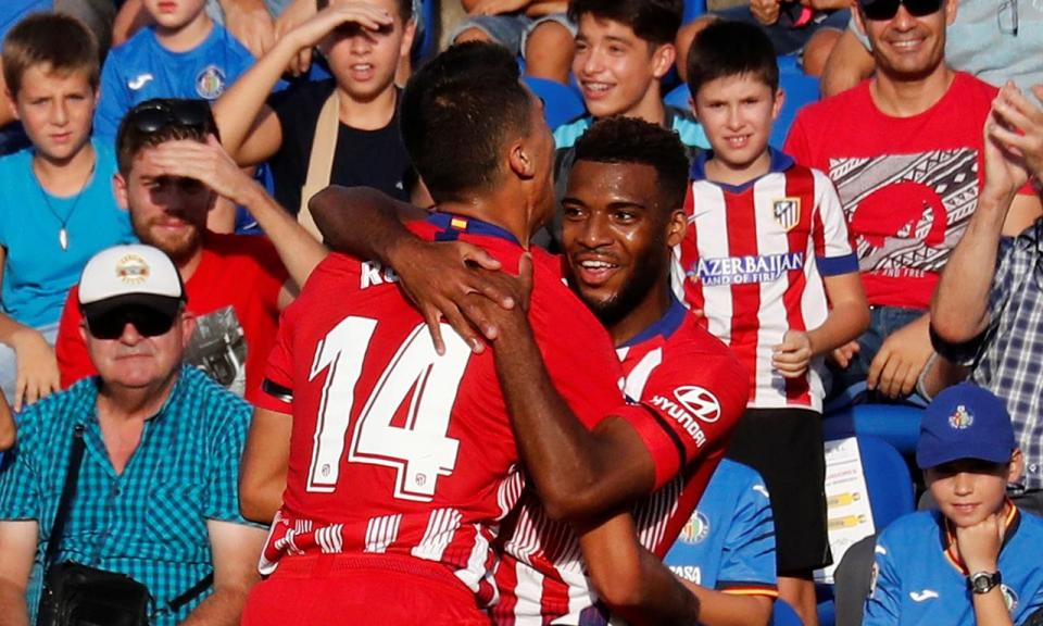 Vinte e cinco minutos de Gelson no triunfo do Atlético de Madrid