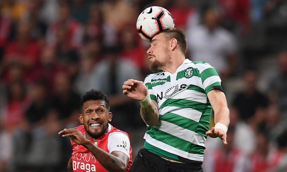 VÍDEO: golo de Dyego Sousa coloca Sp. Braga na frente do marcador