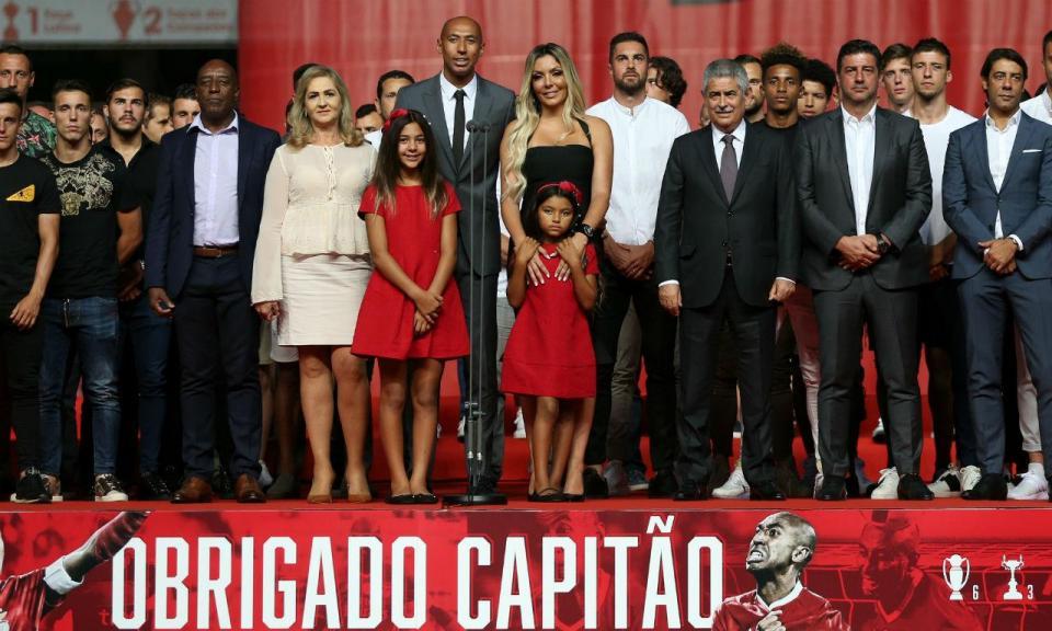Benfica vai organizar jogo de despedida para Luisão