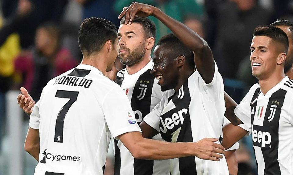 Assistência de Ronaldo na vitória histórica da Juventus