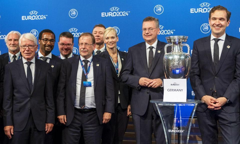 Alemanha em festa com a organização do Euro 2024