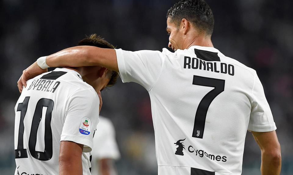Dybala fez hat-trick mas diz: «Tenho de melhorar entendimento com Ronaldo»