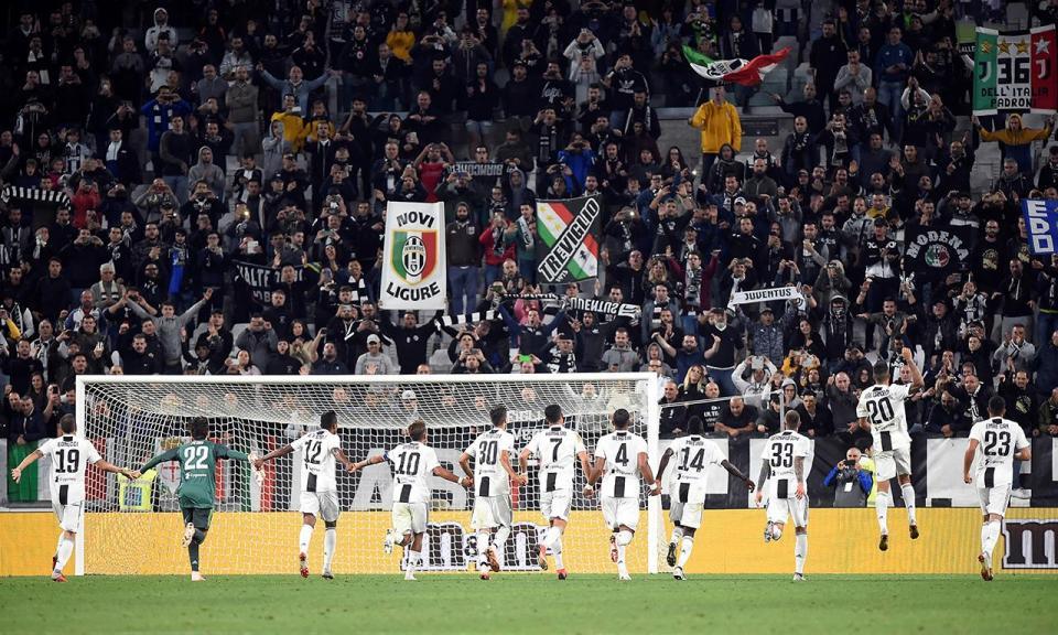 Juventus: bancada fechada devido a insultos racistas