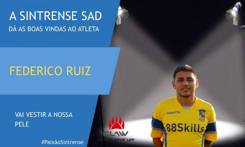 Sporting: Federico Ruiz novamente emprestado ao Sintrense