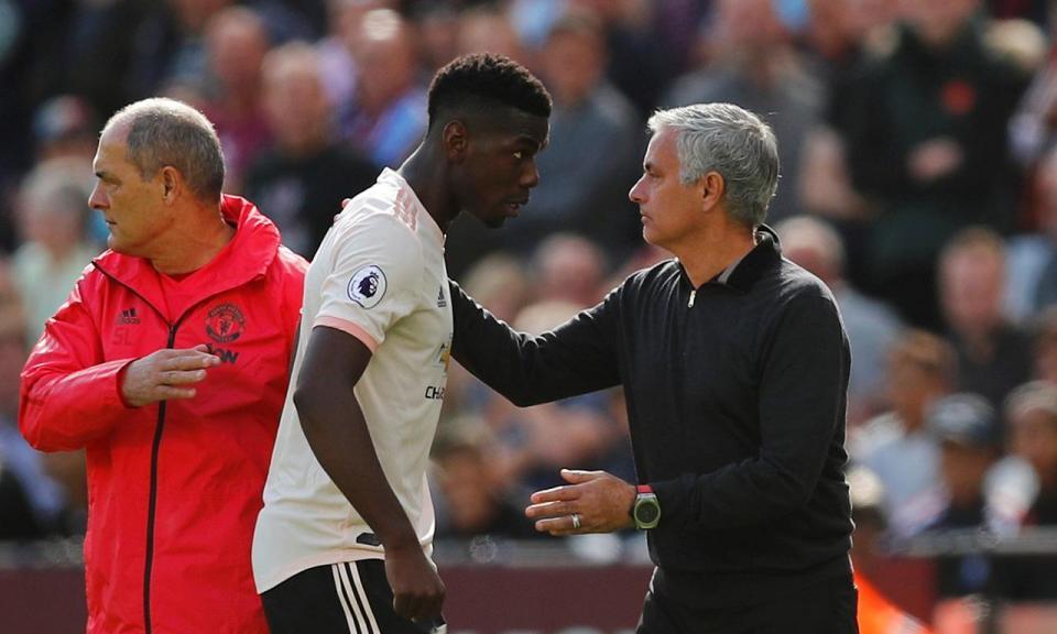 Andreas Pereira revela motivo para o mal-estar entre Mourinho e Pogba