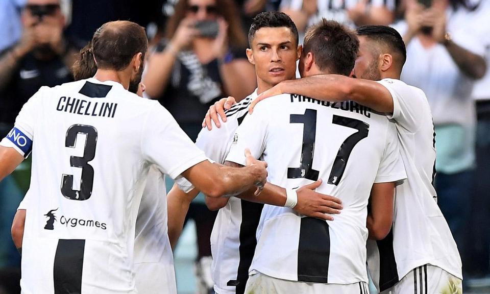 VÍDEO: Ronaldo não marca mas assiste, Juventus sofre mas vence