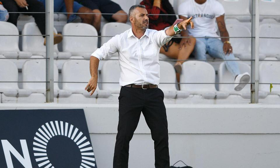 Ivo Vieira: «Foi um jogo de entrega e de luta, às vezes é preciso»