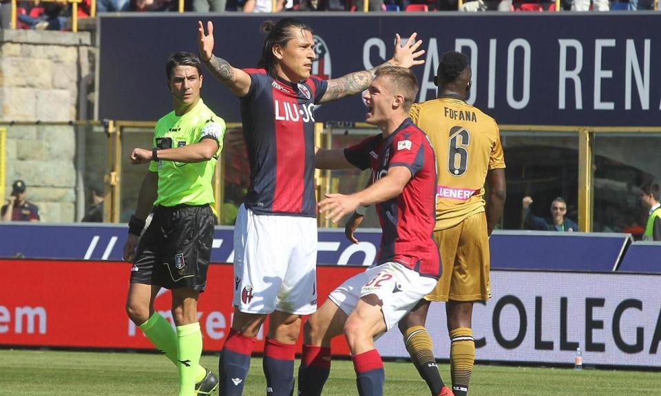 Itália: Bolonha bate Udinese com reviravolta