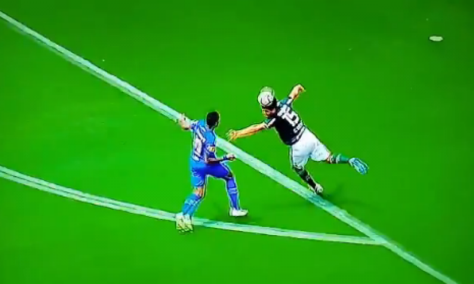 VÍDEO: o incrível penálti assinalado contra o Palmeiras de Scolari