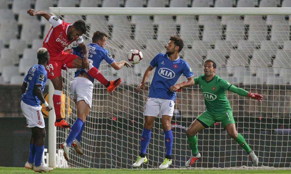Belenenses-Sp. Braga, 0-3 (resultado final)