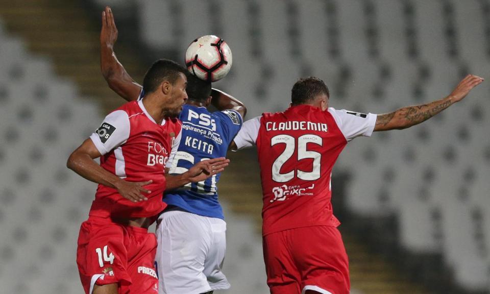 Sp. Braga: seis anos e meio à espera de ser líder na Liga