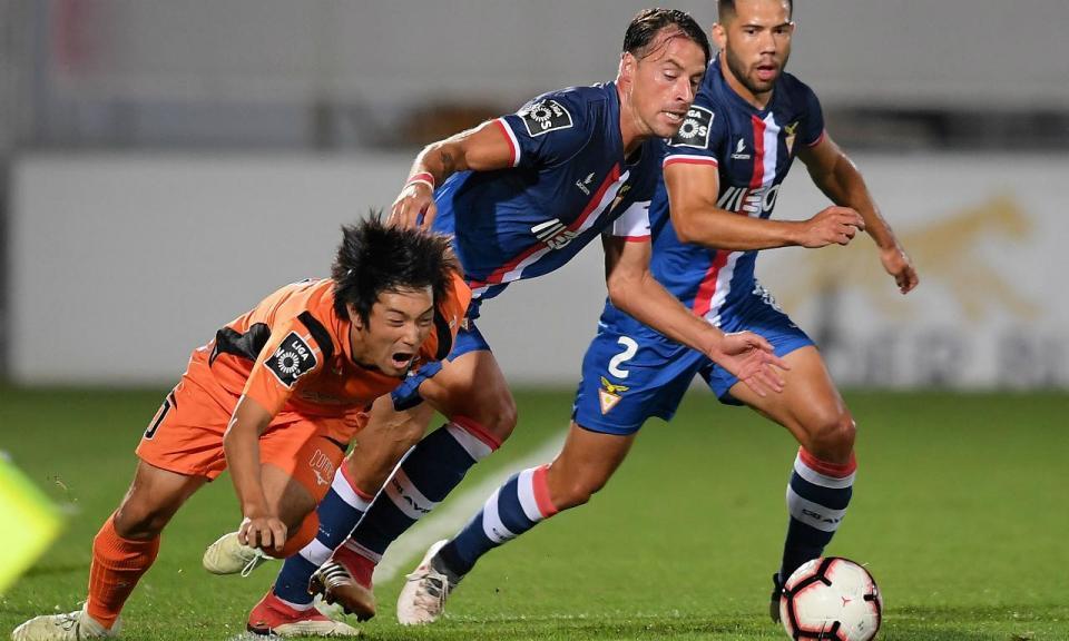Desp. Aves-Portimonense, 3-0 (resultado final)