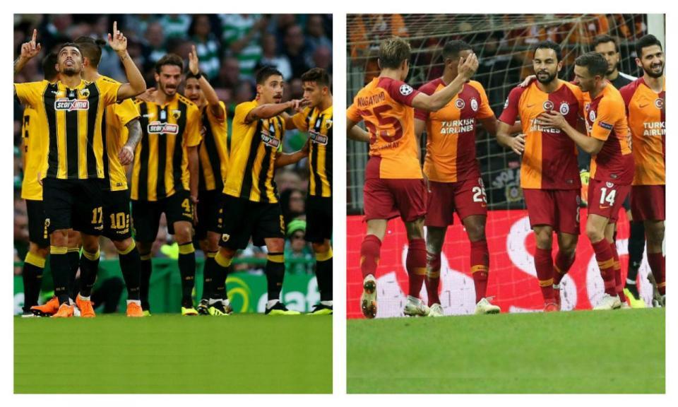 AEK ou Galatasaray, qual deles é uma montanha maior para trepar?