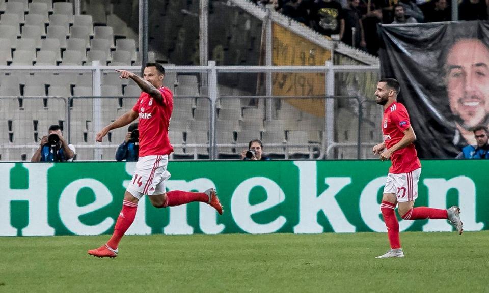 Benfica: Seferovic convocado para a seleção da Suíça