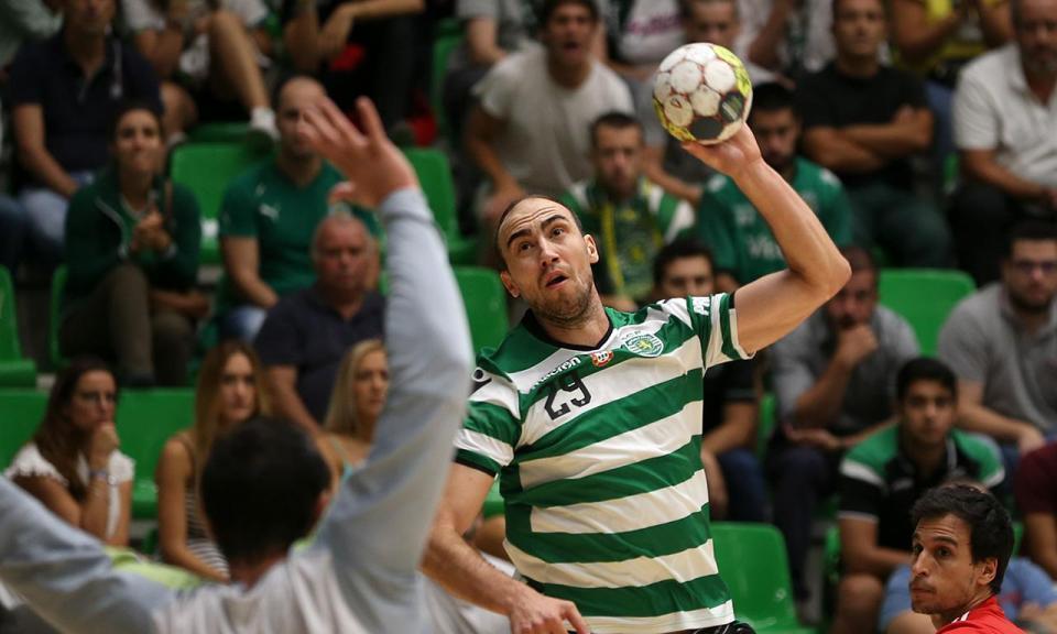Andebol: Sporting vence Besiktas na Liga dos Campeões