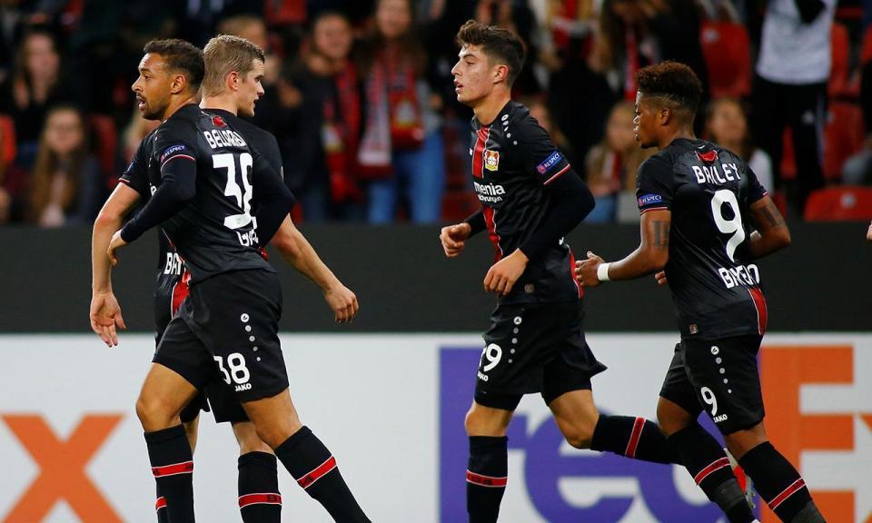 LE: Bayer Leverkusen e Zurique vencem e destacam-se no Grupo A