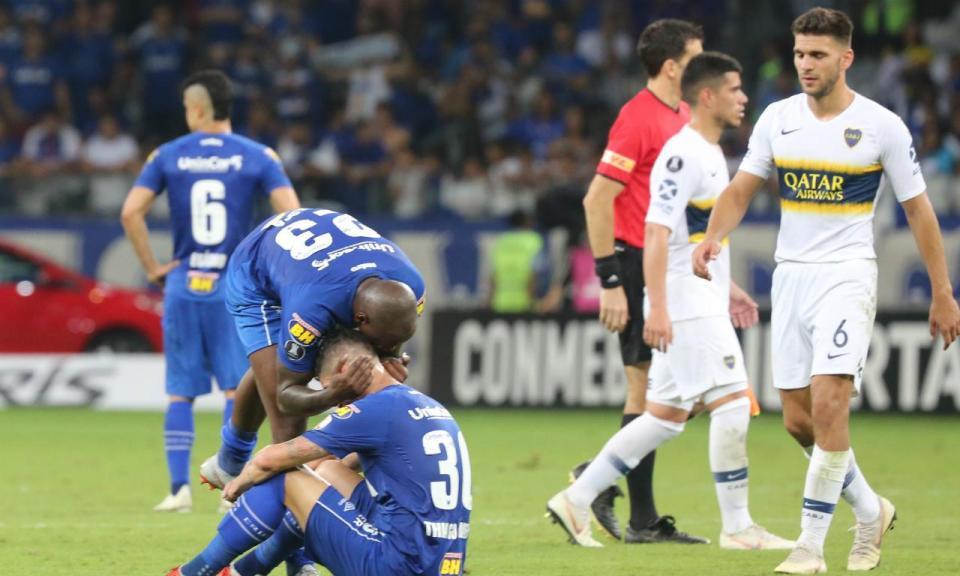 Libertadores: Boca Juniors elimina Cruzeiro e está nas meias finais